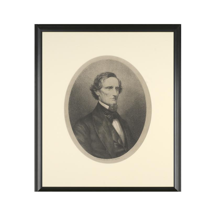 Image: Portrait of Jefferson Davis
