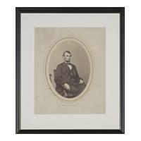 Image: President Lincoln, February 9, 1864