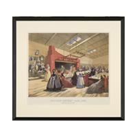 Image: Brooklyn Sanitary Fair, 1864, New England Kitchen