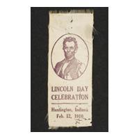 Image: Lincoln Day Celebration ribbon