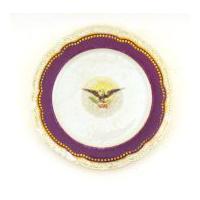 Image: White House dessert plate