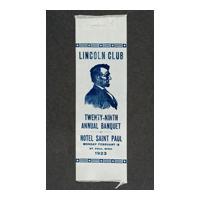 Image: Lincoln Club ribbon
