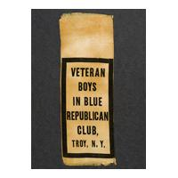 Image: Veteran Boys in Blue Republic Club ribbon