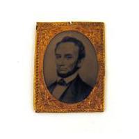 Image: Abraham Lincoln commemorative tintype