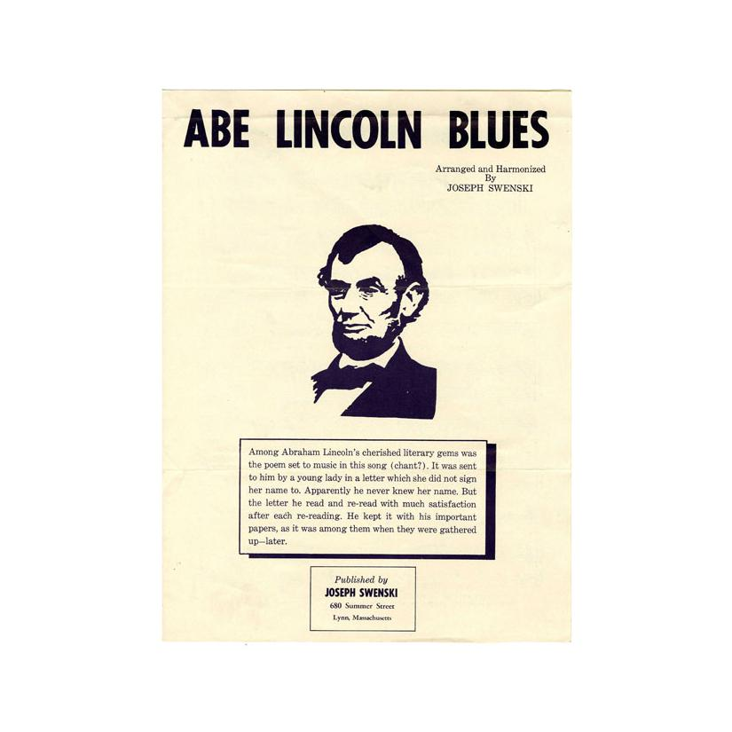 Image: Abe Lincoln Blues