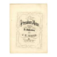 Image: The President's Hymn