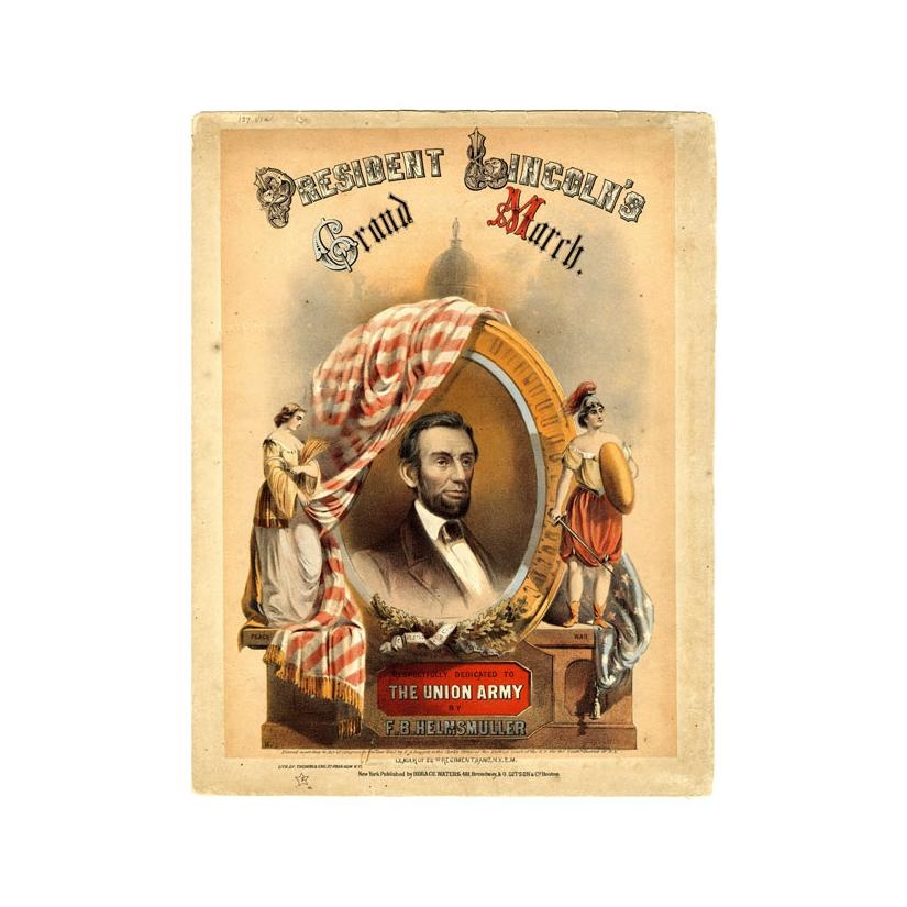 Image: President Lincoln's Grand March