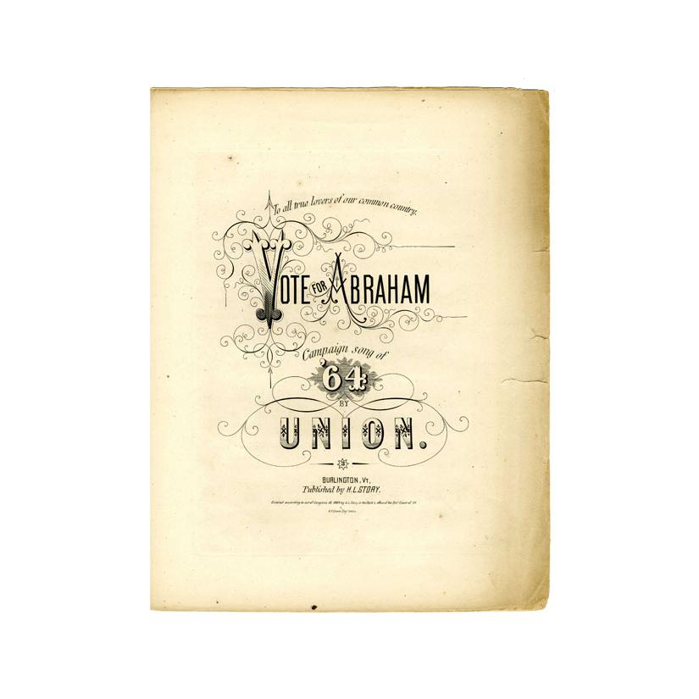 Image: Vote for Abraham