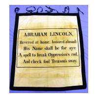 Image: Lincoln Mourning Banner