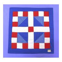 Image: pieced quilt block, Lincoln's Platform