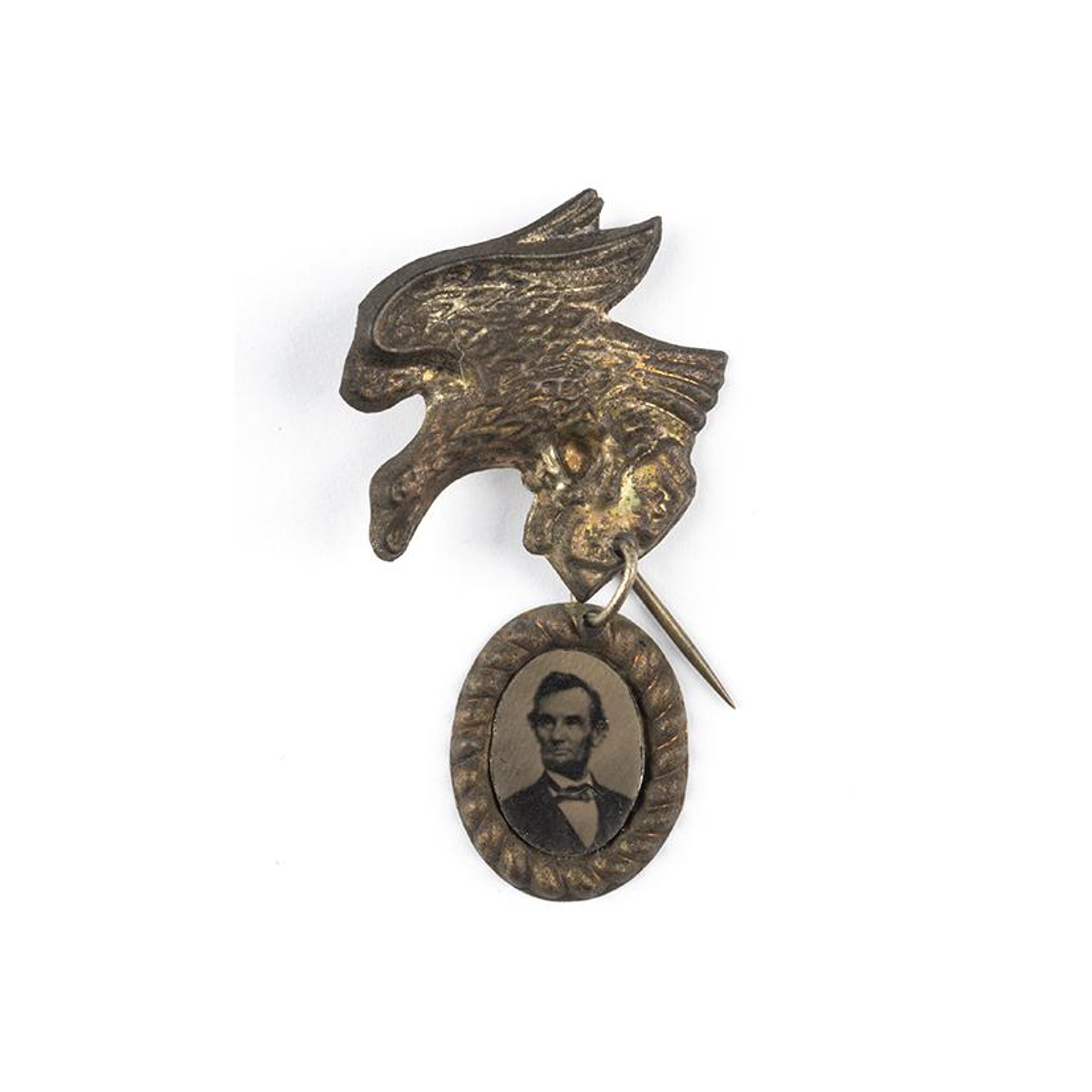 Image: Abraham Lincoln Campaign pin
