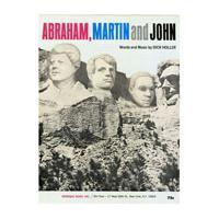 Image: Abraham, Martin and John
