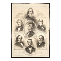 Image: The Members of President Lincoln's Cabinet