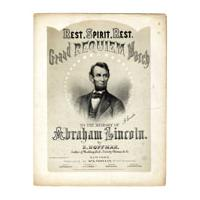 Image: Grand Requiem March to the Memory of Abraham Lincoln