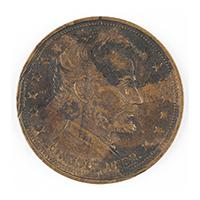 Image: Abraham Lincoln token