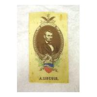 Image: Abraham Lincoln mourning ribbon