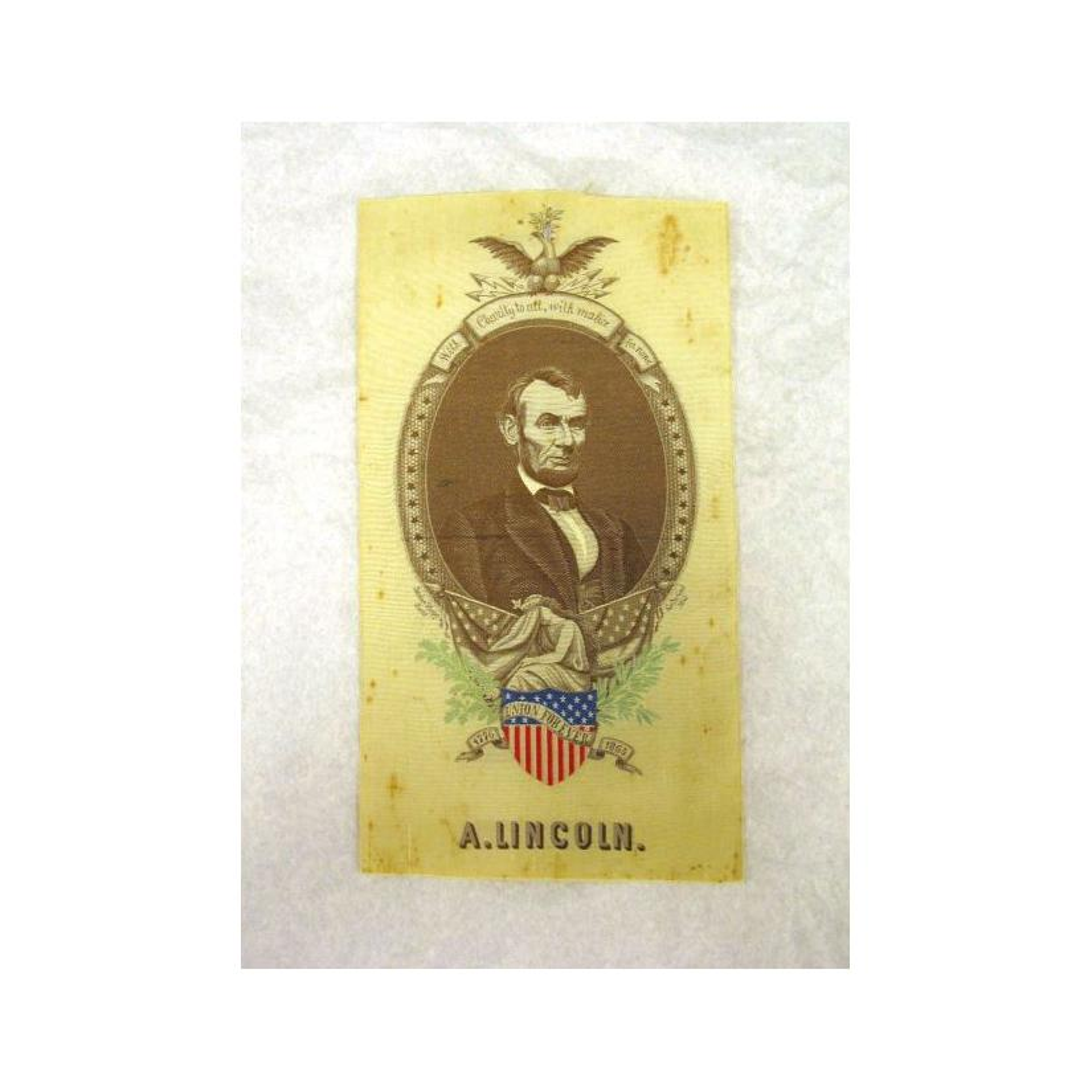 Image: Abraham Lincoln mourning ribbon