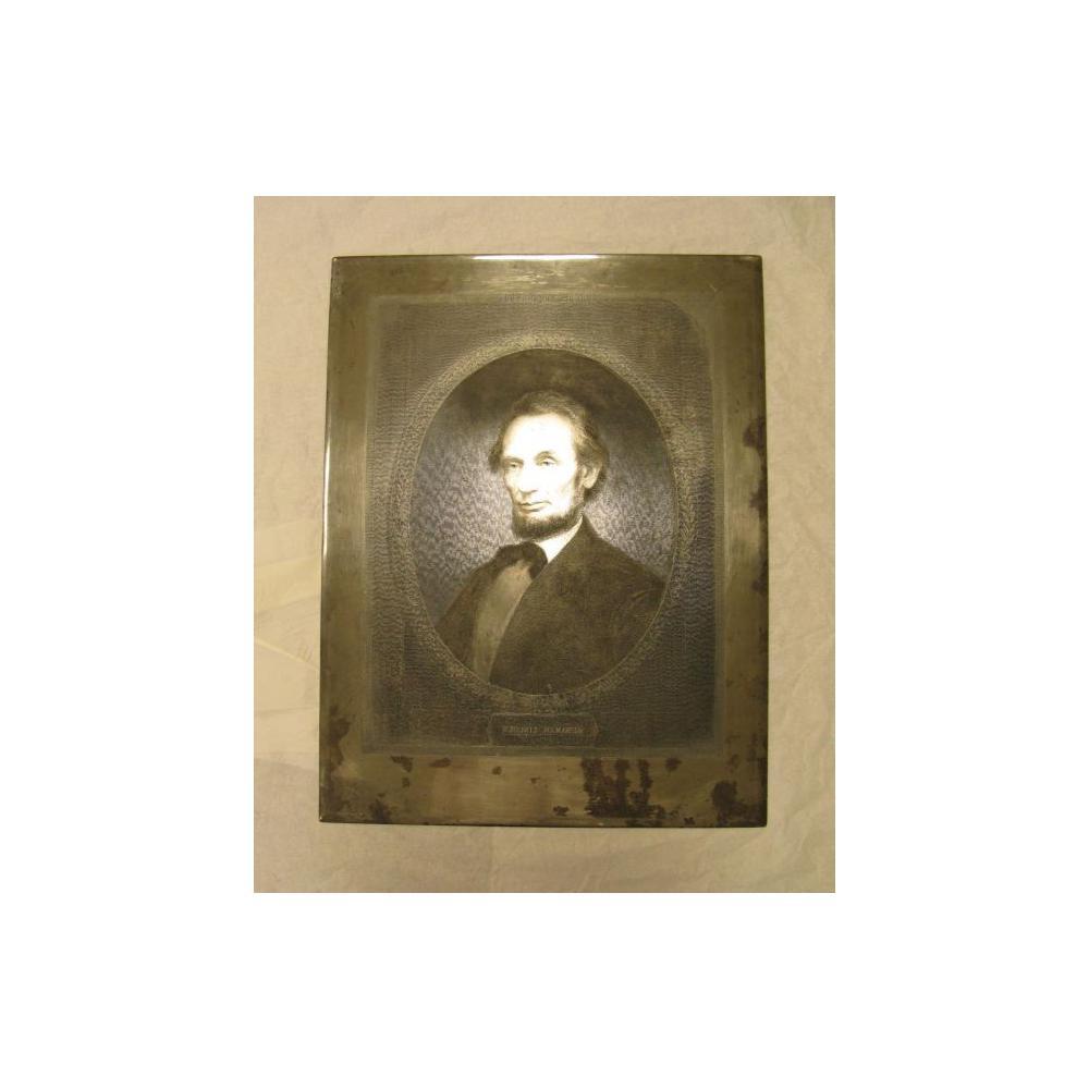Image: Marshall Steel Engraving Plate