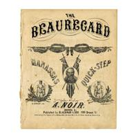 Image: The Beauregard Manassas Quick-Step