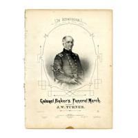 Image: Colonel Baker's Funeral March