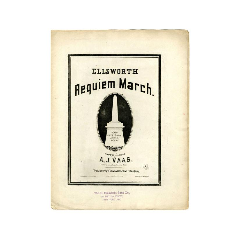 Image: Col. Ellsworth's Requiem March