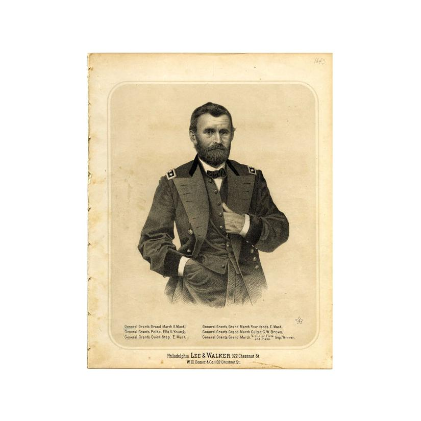 Image: General Grant's Grand March