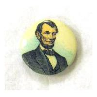 Image: Abraham Lincoln button