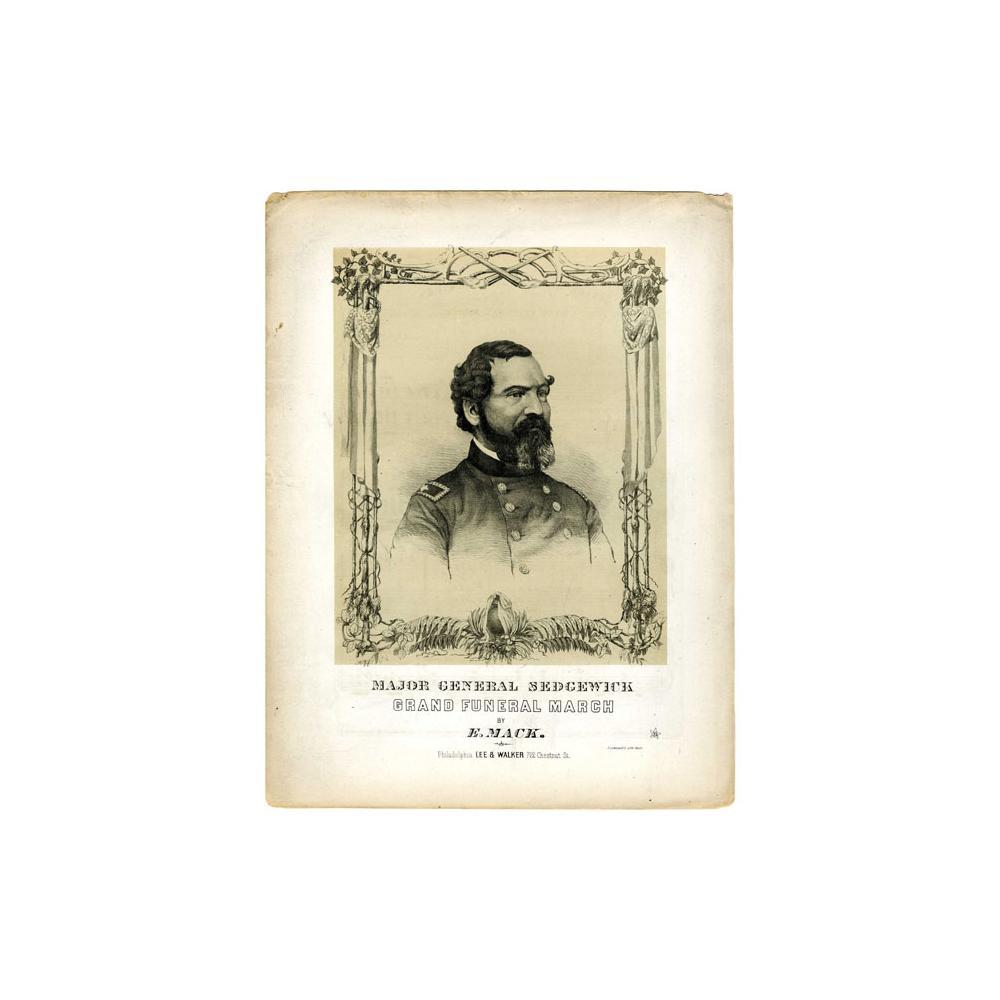 Image: Major General Sedgewick's Grand Funeral March