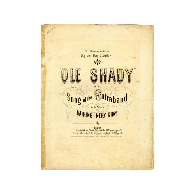 Image: Ole Shady, The Song of the Contraband
