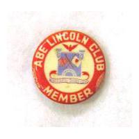 Image: Abe Lincoln Club pin