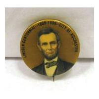 Image: Abraham Lincoln Centennial pin