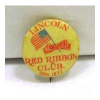 Image: Lincoln Red Ribbon Club pin