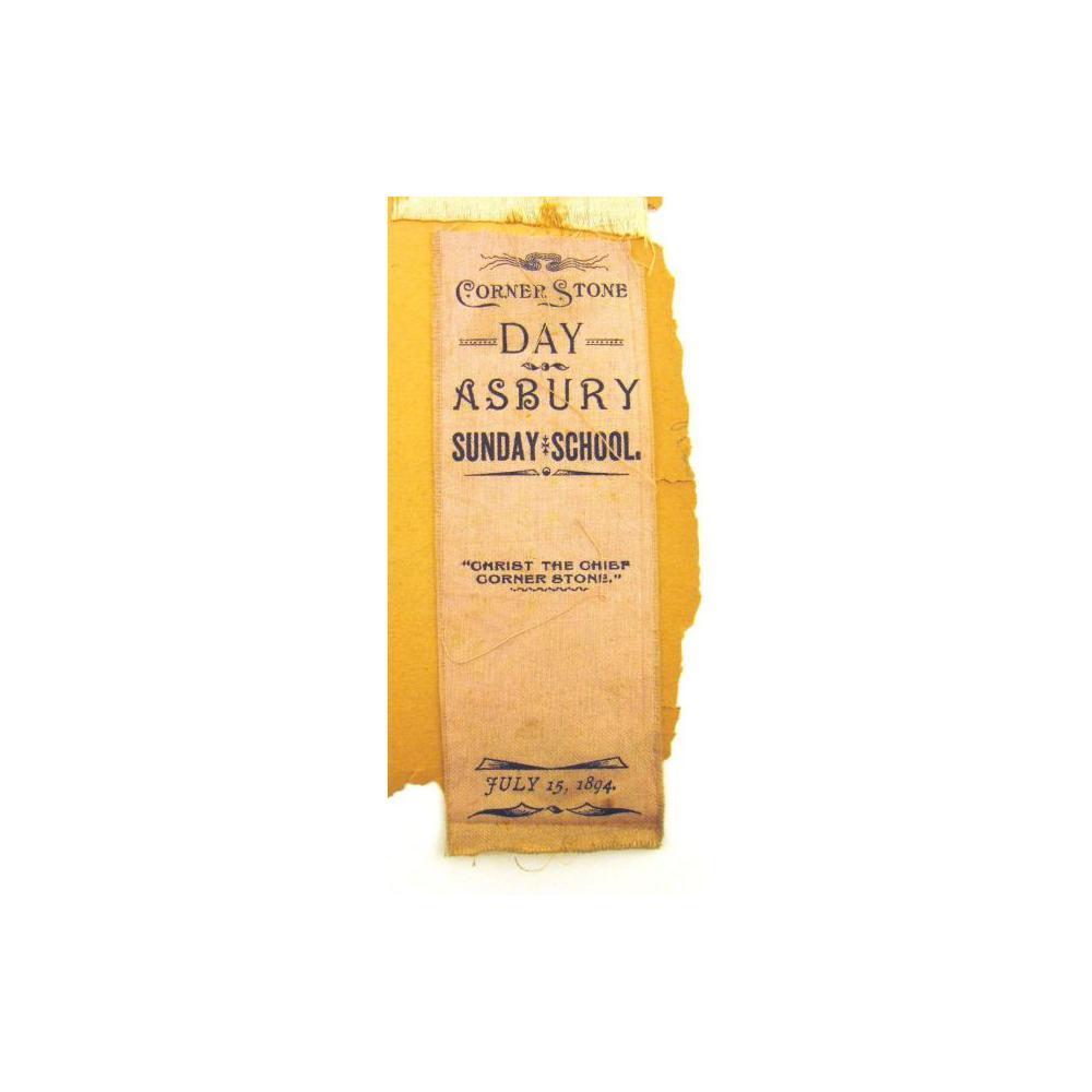 Image: Asbury Sunday School ribbon