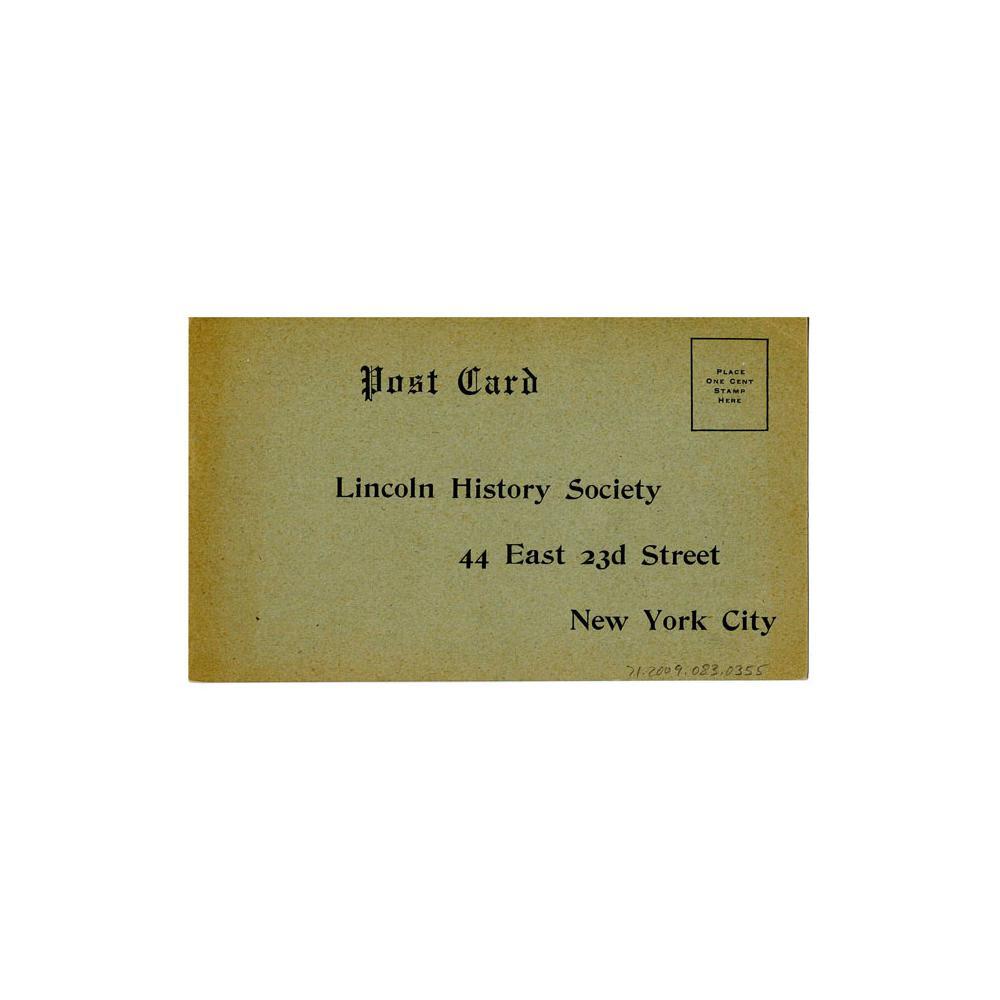 Image: Postcard Advertisement