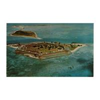 Image: Postcard of Fort Jefferson