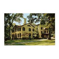 Image: Color postcard of the Seward House