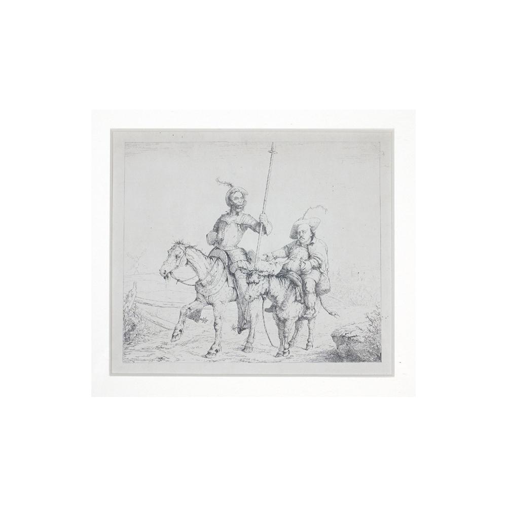 Image: Lincoln as Don Quixote