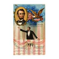 Image: Postcard of Abraham Lincoln