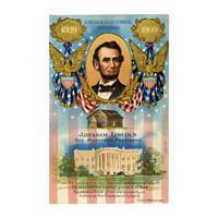 Image: Postcard of Abraham Lincoln