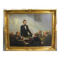 Image: Lincoln and His Cabinet