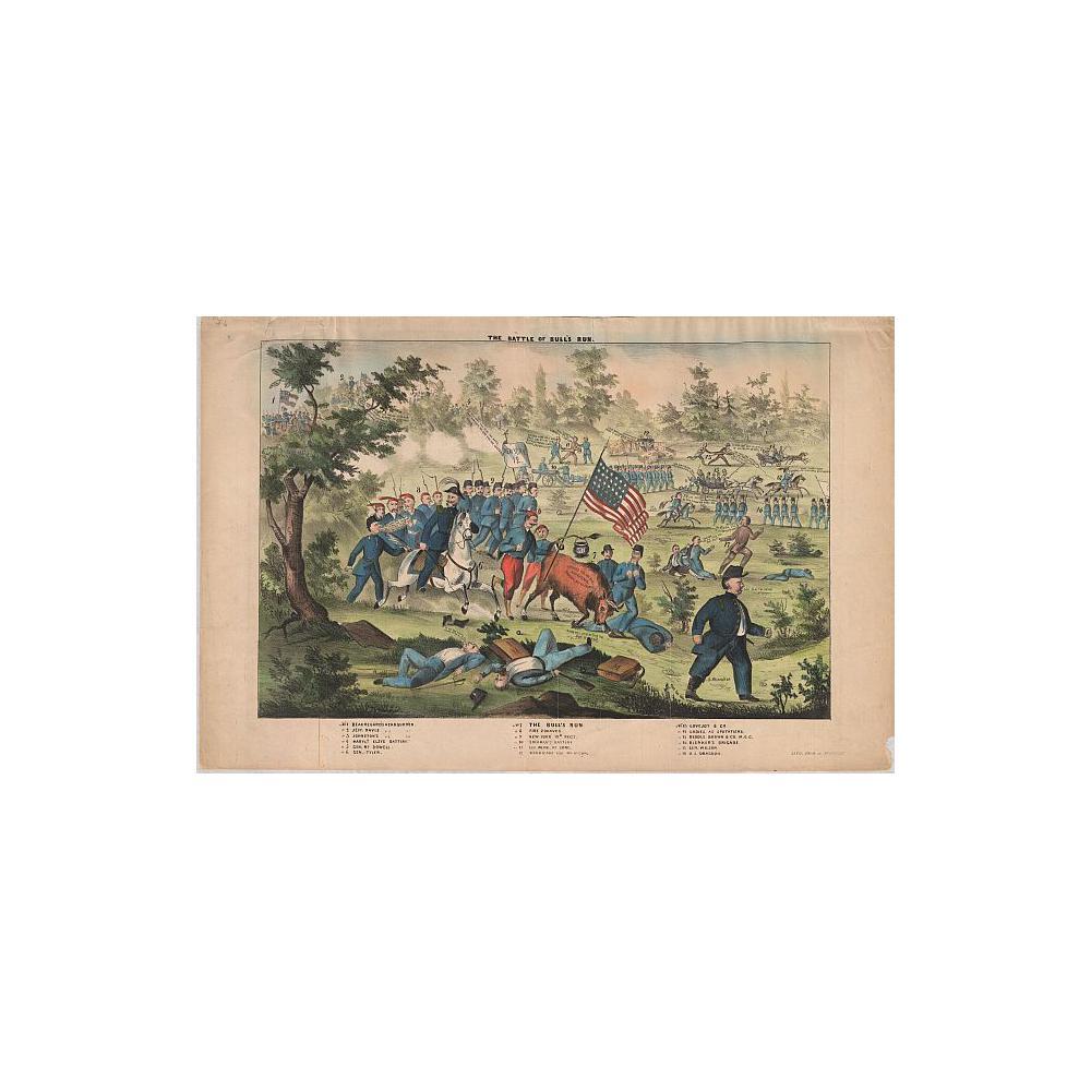 Image: The Battle of Bull's Run