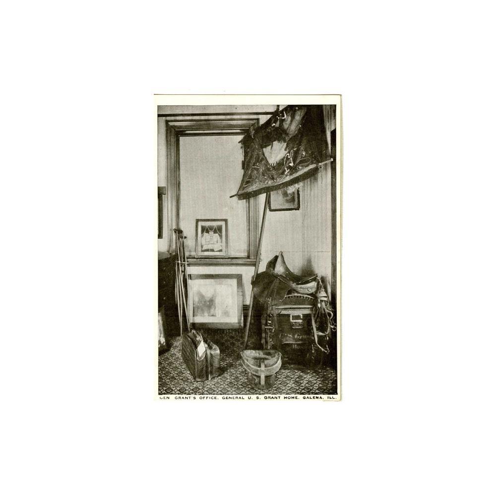 Image: Gen. Grant's Office, General U. S. Grant Home, Galena, Ill.