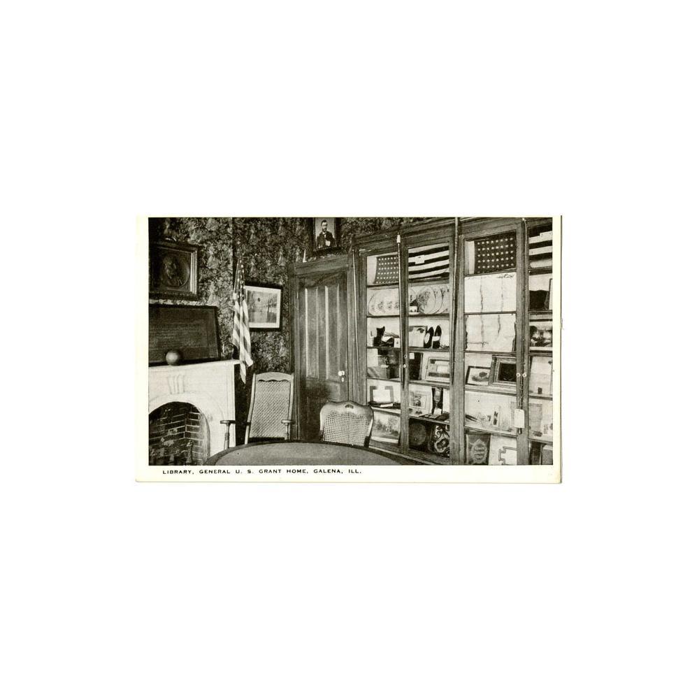 Image: Library, General U. S. Grant Home, Galena, Ill.