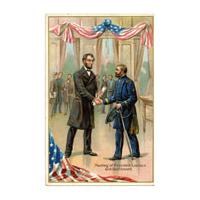 Image: Meeting of President Lincoln and Gen'l Grant
