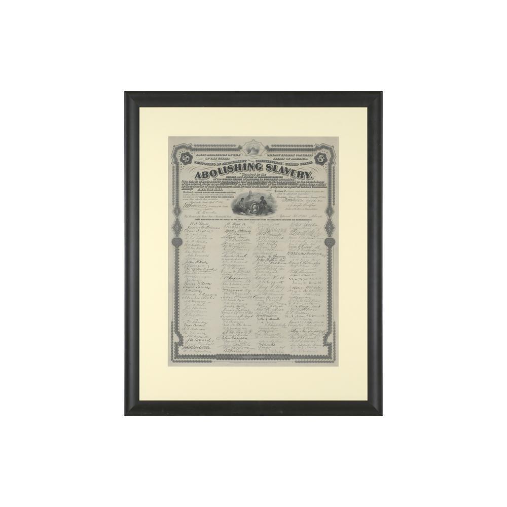 Image: Souvenir copy of Thirteenth Amendment
