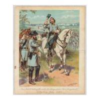 Image: Gen. Pickett Taking the Order to Charge from Gen. Longstreet