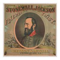 Image: Stonewall Jackson tobacco label