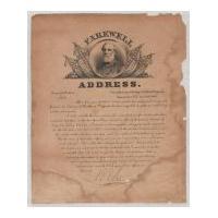 Image: Farewell Address of Robert E. Lee
