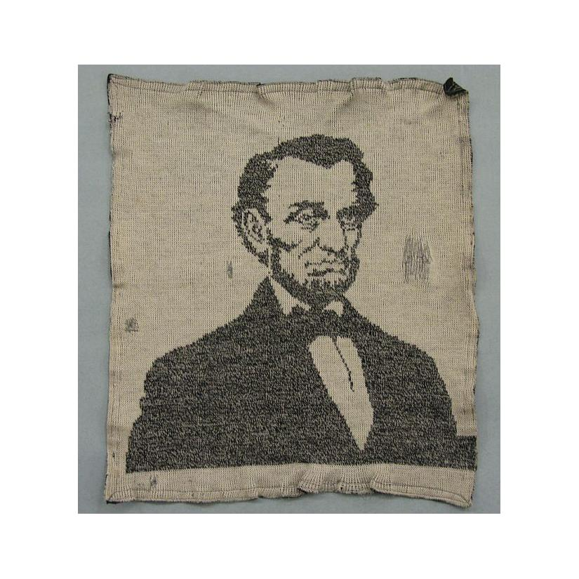 Image: Knit Picture of Abraham Lincoln