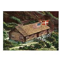 Image: Rebild National Park, The Lincoln-Cottage, Denmark